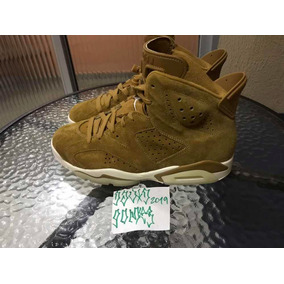 Tenis Jordan 6 Golden Harvest 40