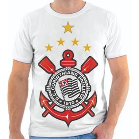 Camiseta Do Corinthians Personalizada 6 Modelos P Sua Escolh ... 666d1e9646510