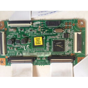 Placa Lógica/t-con Tv Samsung Pl43 Plasma, Estado Novo!