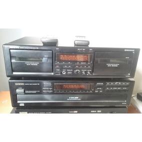 Tape Deck Onkyo Duplo Ta Rw411