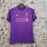 a2bd7a5070 Camisa Roxa De Time - Camisa Liverpool no Mercado Livre Brasil