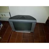 Televisión Pantalla Plana Sony Wega Trinitron Con Control