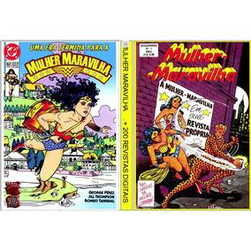 4 Dvds - Mulher Maravilha C/+ De 570 Revistas Digitalizadas