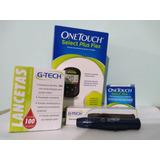 Kit Medição De Glicose (aparelho+tiras+lancetador+lancetas)