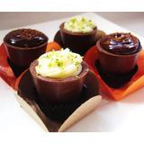 Copinhos De Chocolate (50 Copinhos) Brinde - Leia O Anúncio