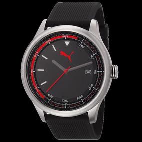 Relógio Puma Masculino Esportivo Fundo Preto 96176g0pmnu2