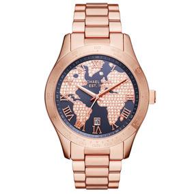 23065f5e91b9d Relógio Michael Kors Layton Mk5946 ( Com Swarovisk) - Relógios De ...