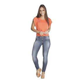 46f443b2ae5e3 Calça Cross Alto Modela Bumbum - Calças Jeans Feminino em Paraná no ...