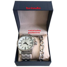 69a90edc313 Pulseira Atlante Prata - Joias e Relógios no Mercado Livre Brasil