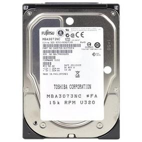 Mba3073nc Fujitsu 73gb 15k Rpm Ultra320 80 Pin Hard Drive