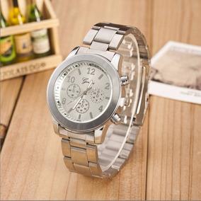 4ebac42762c Relogios Geneva Prata - Relógios no Mercado Livre Brasil