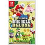 Super Mario Bros U Deluxe Nint - Switch Juego Fisico Sellado