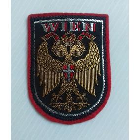 Parche Escudo Ciudad Viena Wien Año1461 Austria Bordado Hilo
