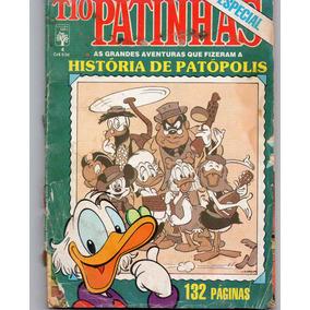 Gibi Tio Patinhas Especial Nº 4 - Mar/87 A História De Patóp