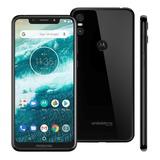 Motorola One Preto Ou Branco 64gb / Promoção + Brinde !!