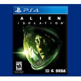 Alien Isolation Ps4 Disponible