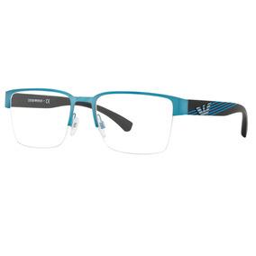 23c31a2c663c4 Armação De Armani Azul - Óculos no Mercado Livre Brasil