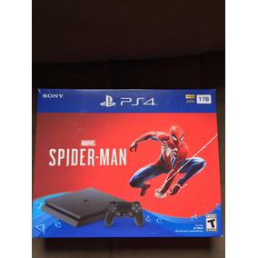 Ps4 Slim 1tb Spiderman Bundle Bivolt Americano Lacrado