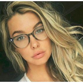 ad17d5c11ad3f Armacao De Oculos Para Grau Feminina Quadrada Degrade - Óculos no ...