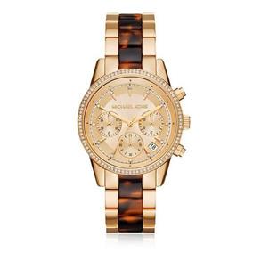Relógio Feminino Michael Kors Mk6322/5dn Dourado