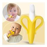 Cepillo Mordedor Dentición Plátano Banana Bebé Guante Lb