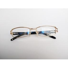 82d431b5ff36f Armação Óculos De Grau Metal Feminino Fridon Fr2222 Original