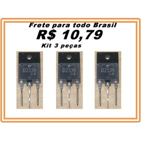 Transistor 2sd2539 Original - 2sd 2539 - D2539 Kit 3 Peças