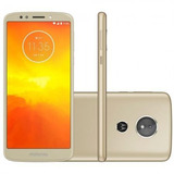 Celular Motorola Moto E5 Dourado 16gb Mais Moto E 5
