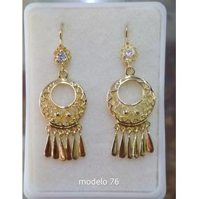 d61be36c8841 Arete Colgante Filigrana Regional Oaxaqueña Laminado De Oro