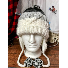 Gorro Tejido Caliente Baggy Unisex Sombrero Crochet · Gorros Ecuatorianos  En Lana 88866628e10