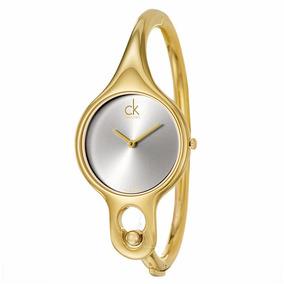 fbdd7b4e215 Relogio Calvin Klein Feminino Prata - Relógios De Pulso no Mercado ...