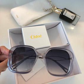 Oculos De Sol Hexagono Chloe - Óculos De Sol no Mercado Livre Brasil 88bd1f22a6