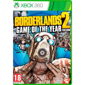 Borderlands 2: Game Of The Year Edition Xbox 360 Midia Fisic