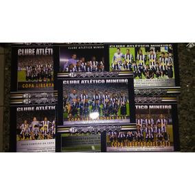 7 Posters Atlético Mg Campeão Libertadores Da América 2013