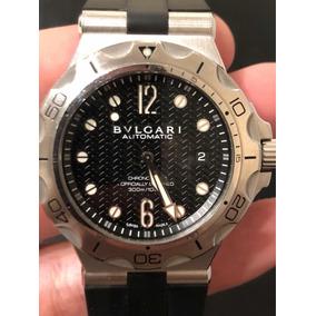 93840be4ca6 Leilo Relogio Bvlgari Diagono Professional - Relógios no Mercado ...