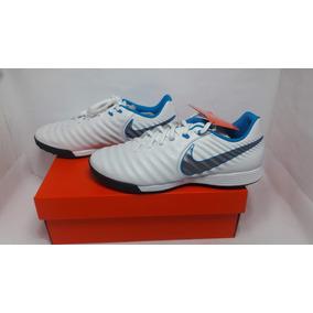 Azul Nike Tiempo Branco - Chuteiras de Society para Adultos no ... 9e24e55e9fd3f