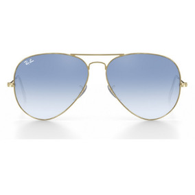 Ray Ban Aviador Azul Degrade Replica De Sol Aviator - Óculos no ... dfd3fe2003