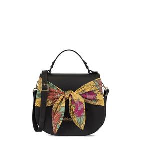 Bolsa Petite Jolie Saddle Bag Pj3678 Preto