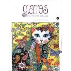 Revista Gatos - O Livro De Colorir Marjorie Sarnat