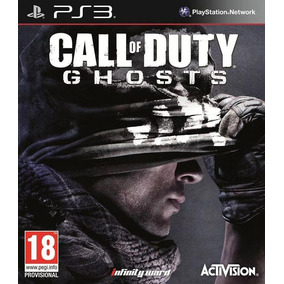 Jogo Midia Fisica Novo Call Of Duty Ghosts Playstation Ps3