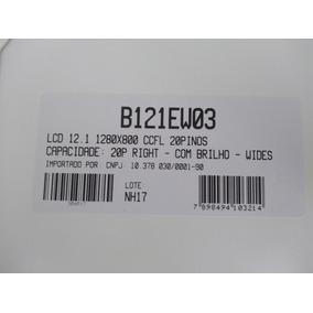 Lcd 12.1 1280x800 - 20 Pinos Right Com Brilho