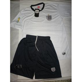 Conjunto Inglaterra Eliminatorias 2014 - Camiseta + Short -