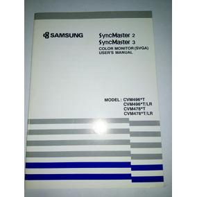 Manual Monitor Samsung Syncmaster 2 3