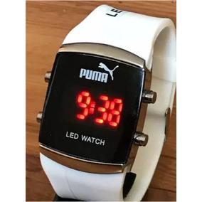 14044e360ca Relogio Puma Crash Branco 48mm - Joias e Relógios no Mercado Livre ...