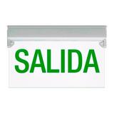 Cartel Salida Led Reglamentaria Autonomía 6h Emergencia