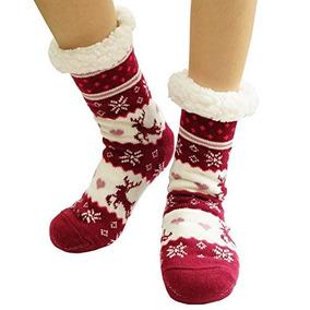 Calcetines De Invierno Para Mujer, Suave, Calido, Acogedor,