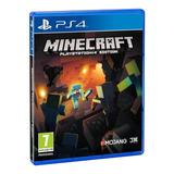 Minecraft Ps4 Fisico Sellado Nuevo Original Play Station 4