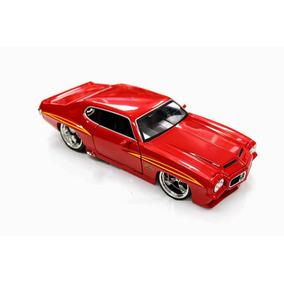 Miniatura Pontiac Gto 1971 Jada Toys 1:24 Vermelho