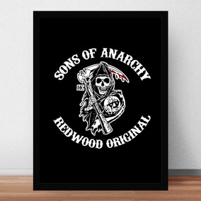 Quadro Poster Sons Of Anarchy Série