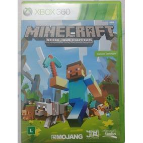 Minecraft Xbox 360 Original - Totalmente Em Português